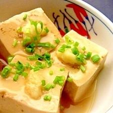 豆腐の葛煮風✿寒い日の副菜
