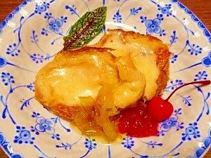 チーズ☆フレンチトースト
