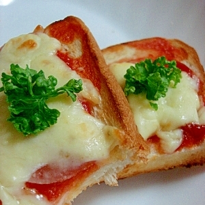 超簡単★ピザ・トースト!
