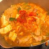 簡単!韓国料理店のまかない飯『豚キムチ鍋』★秘伝