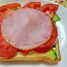 新鮮な野菜をたっぷり☆手軽な調理パン