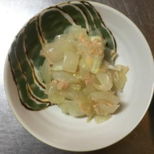 玉ねぎとツナ缶の洋風炒め