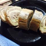 卵焼き用フライパンで!手作りバウムクーヘン