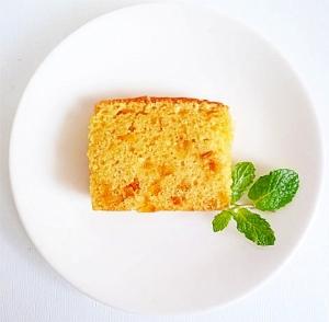 オレンジピールのパウンドケーキ