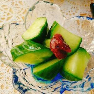 副菜にぴったり!きゅうりの梅肉和え