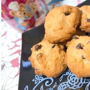 スプーンで作るチョコチップロッククッキー