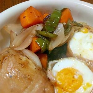 【節約】ボリュームたっぷり丸ごと卵の肉巻き黒酢風!