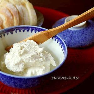 自家製のクリームチーズ*オードブル