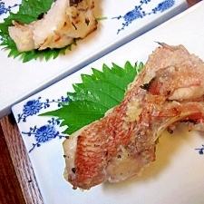飯鮨の旨味を焼魚で☆ 「メヌキの塩麹焼き」