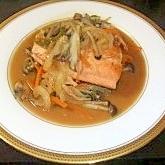 野菜一杯!鮭のちゃんちゃん焼き