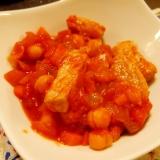 ひよこ豆と豚ロースのポークビーンズ-簡単、男の料理