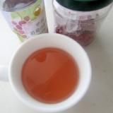 石榴と葡萄の酢ドリンク
