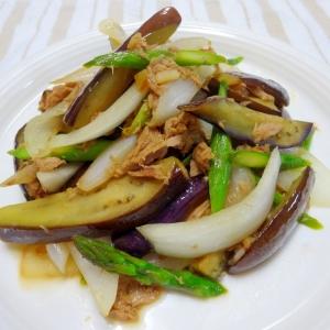 旬の野菜とツナのポン酢かけ