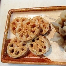 おせちと弁当のおかずになる!レンコンと牛蒡の梅煮