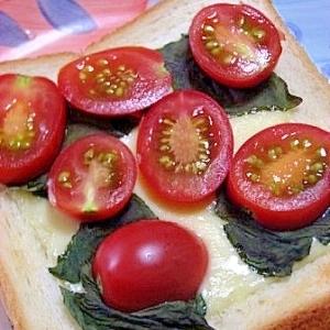 朝食に マルガリータトースト