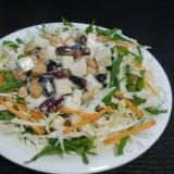 モッツァレラと豆のサラダ