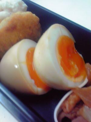 【お弁当】焼肉のたれと卵だけ!味付たまご