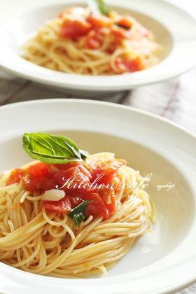 フレッシュトマトパスタ