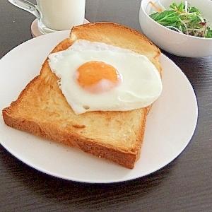 ジブリの食卓★パズー特製!目玉焼きトーストDX