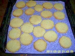 ホロホロの食感!低糖質おからクッキー