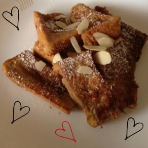 ♡ミロで作るフレンチトースト♡