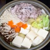 ★ポン酢で食べる♪あっさり水炊き鍋★