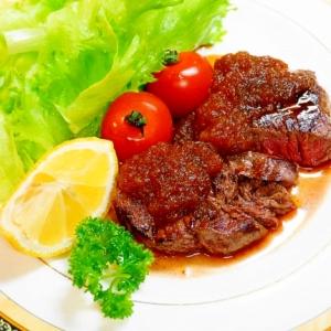 サーロインでなくとも美味しい!ランプ肉ステーキ