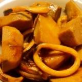 ほっくり里芋とイカの煮物