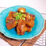 低カロでダイエット効果!高野豆腐の肉巻き照焼