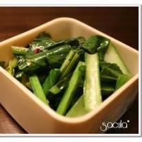 シンプルに美味しい★小松菜のガーリック炒め