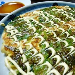豆腐と長芋でヘルシーなお好み焼き