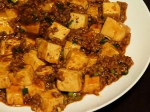 うちの麻婆豆腐。