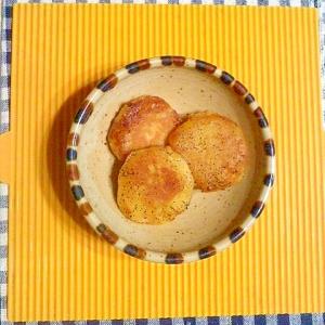 バター醤油のサツマイモ餅♪