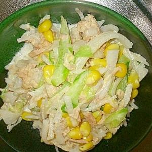 簡単で美味しい大根サラダ