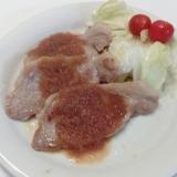 カリッと生姜焼き