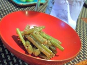 フライパンで簡単、蕗の味噌炒め煮