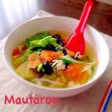 ベトナム風 香味野菜の食べるスープ
