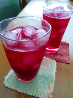 簡単に作れる!美味しい紫蘇ジュース