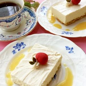 ☆★パッションフルーツジュースでチーズケーキ♪★☆