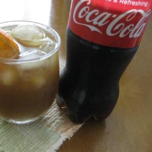 【コカ・コーラ】とオレンジで☆爽やかカクテル♪
