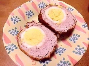 ボリューム満点  ご飯に合う スコッチエッグ