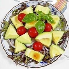 フリルレタスのサラダ