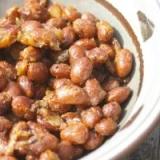 いんげん豆のしょうが焼き