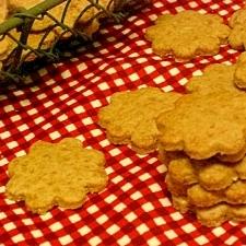 サクサク♪全粒粉のジンジャークッキー