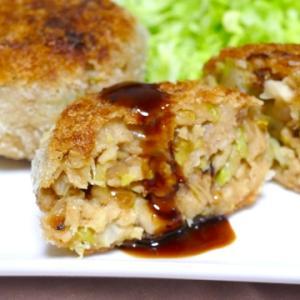 高野豆腐と野菜のヴィーガンメンチカツ風