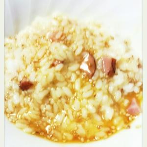 胡麻チャーシュー卵かけご飯