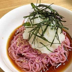 おろしたっぷり☆ぶっかけ紫蘇素麺