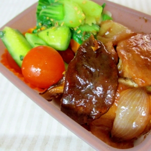鶏肉と椎茸の煮物