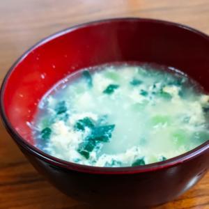 時短☆5分で作れる!小松菜と卵の中華スープ