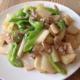 冬瓜と豚肉の味噌炒め♪